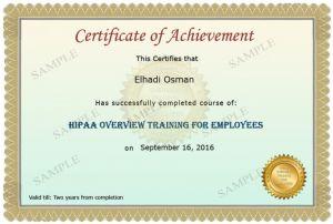 HIPAA Employee Training